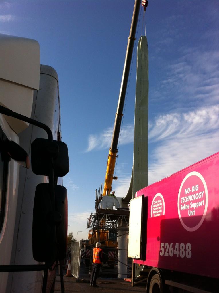 36Lanes Group Nottingham tram reline project