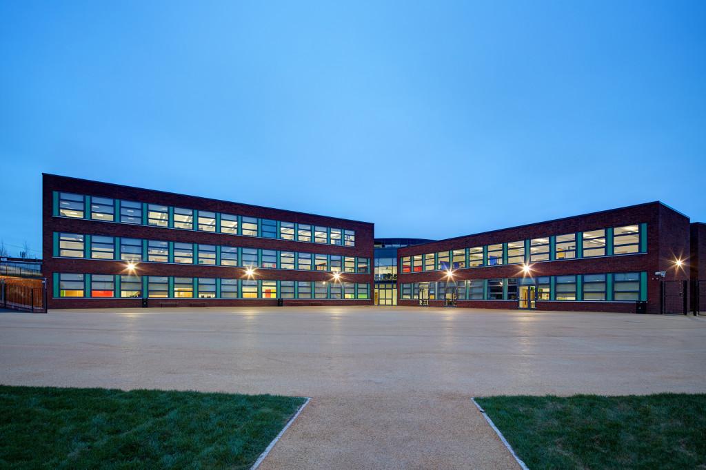 50Grange School Dusk HR