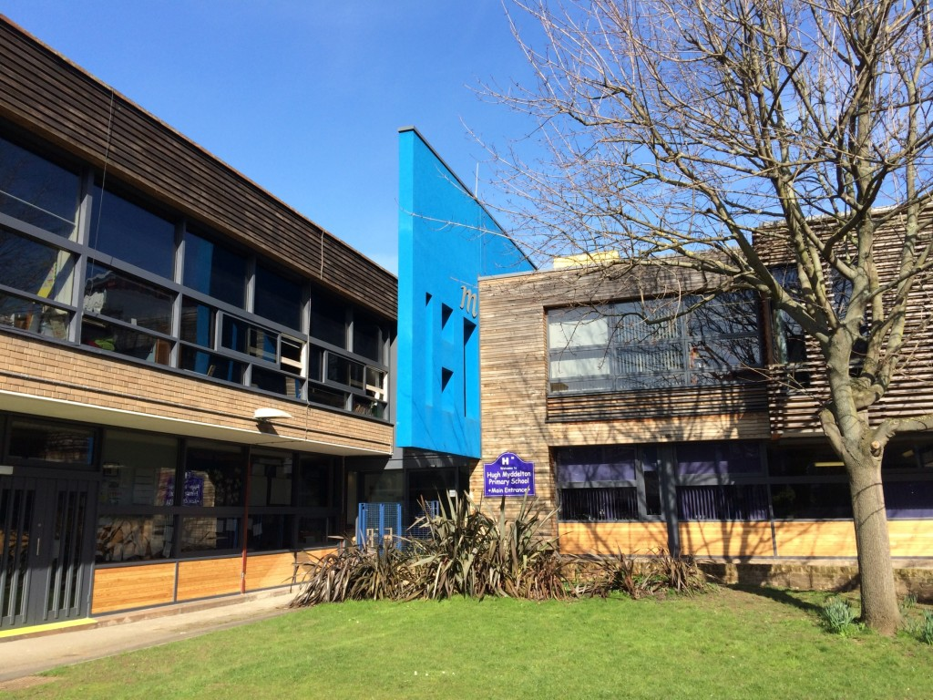 23  Hugh Myddelton Primary School - exterior