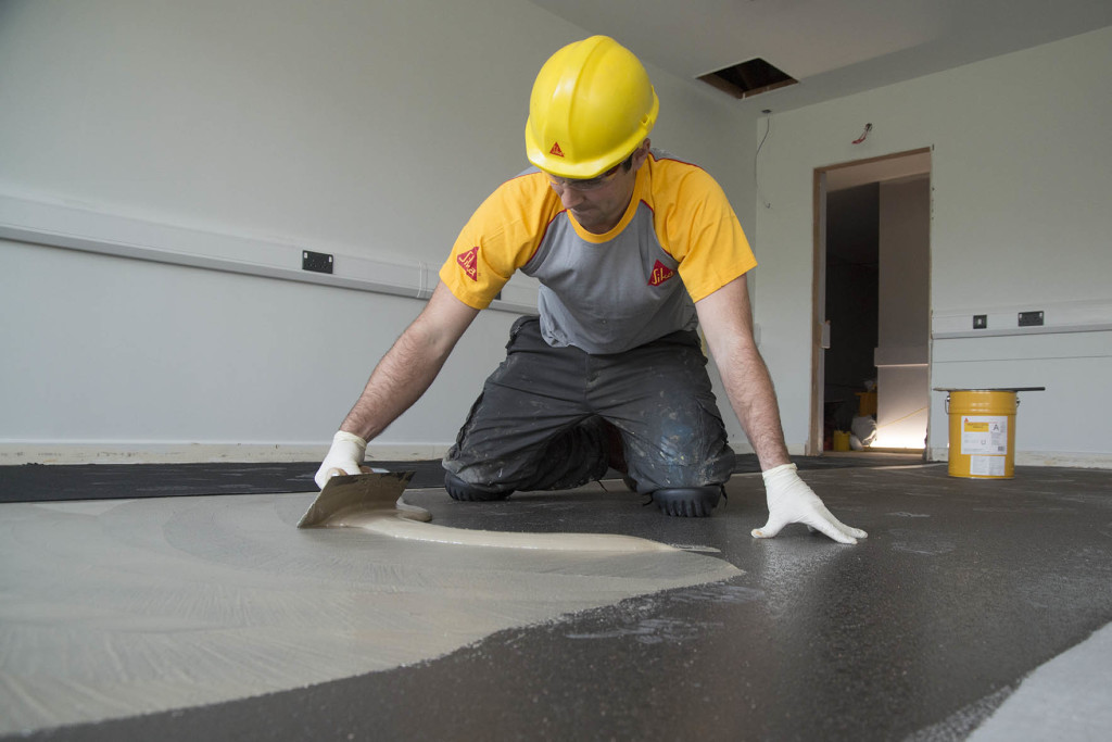 30  Sika will deliver a 2,000m2 Comfortfloor system to the new Castle Hill School