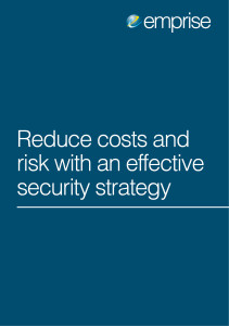 5 Reduce Costs and Risk With an Effective Security Strategy