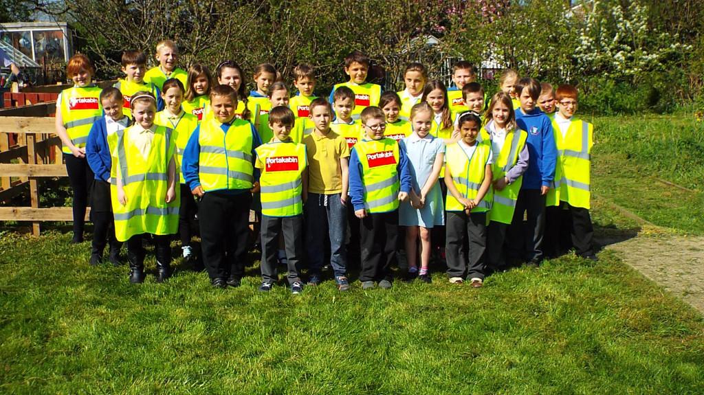 20  Portakabin Tang Hall Primary School - Glen Allotment project 1