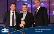 Saville wins European award at NEC Display Trends Forum