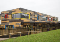 VIVIX® by Formica Group Delivers a Natural Touch to School Façade
