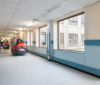 Altros First Adhesive Free Flooring for Low Slip Risk Areas is Tough Time Saving Solution at Warrington Hospital